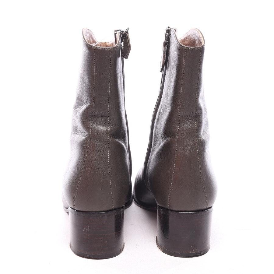 Stiefeletten von Hermès in Waldgrün Gr. EUR 39,5
