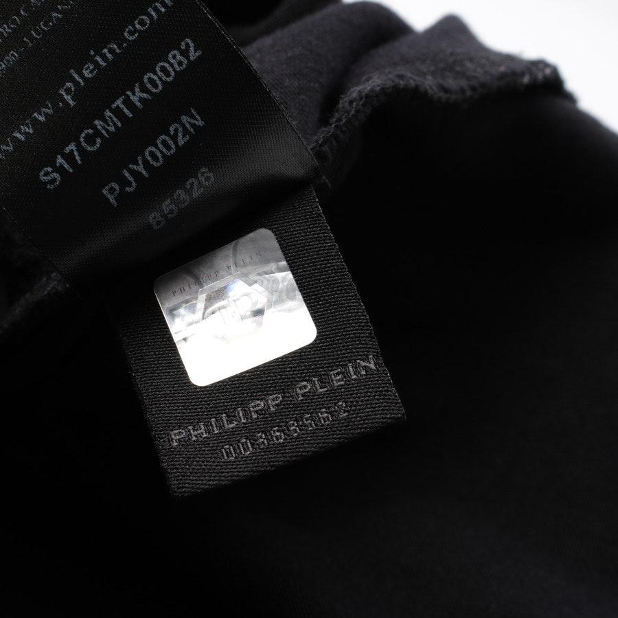 Langarmshirt von Philipp Plein in Schwarz und Weiß Gr. XL