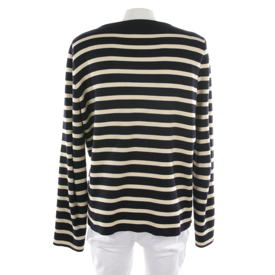 Pullover von Gucci in Marineblau und Beige Gr. XL
