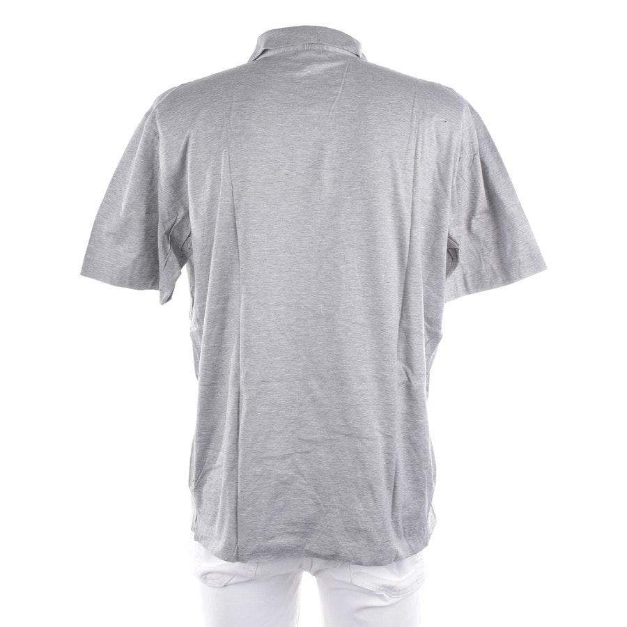 Poloshirt von Hugo Boss Black Label in Grau Gr. XL