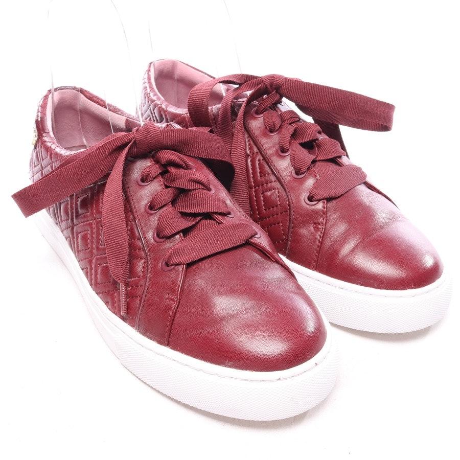 Sneaker von Tory Burch in Himbeerrot und Weiß Gr. EUR 40