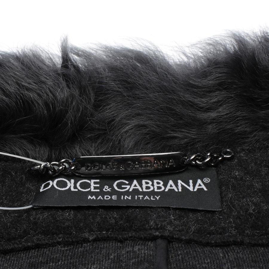 Poncho von Dolce & Gabbana in Dunkelgrau und Schwarz Gr. 32 IT 38