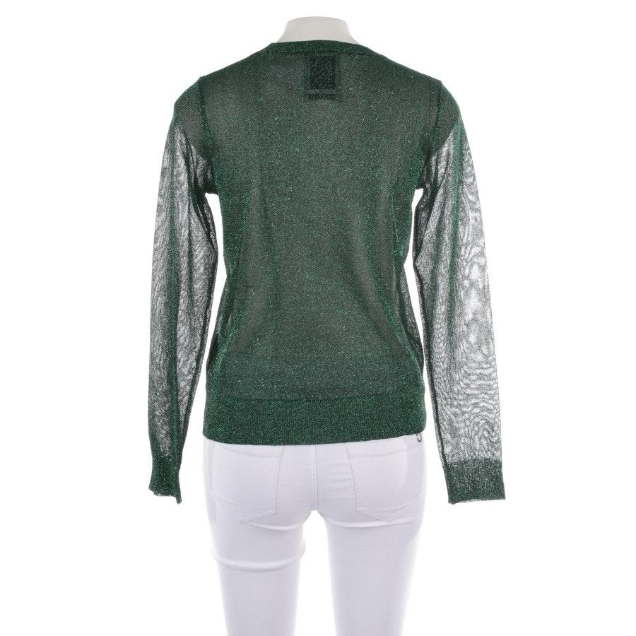 Pullover von Zoe Karssen in Schwarz und Grün Gr. S