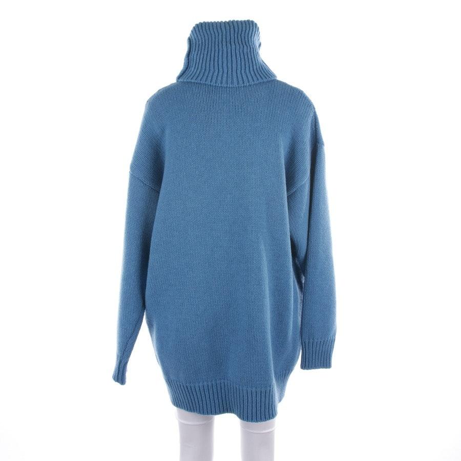 Wollpullover von Balenciaga in Blau Gr. S