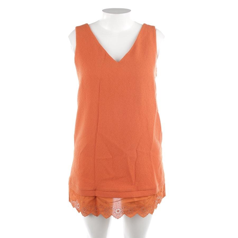 Kleid von Sandro in Orange Gr. M