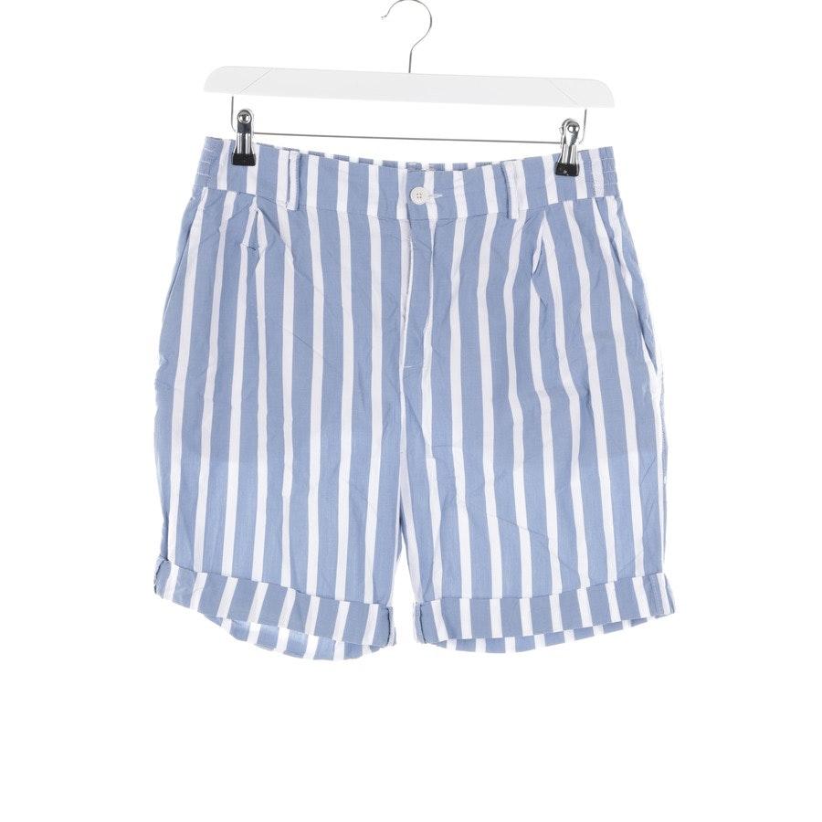 Shorts von Drykorn in Weiß und Blau Gr. W31