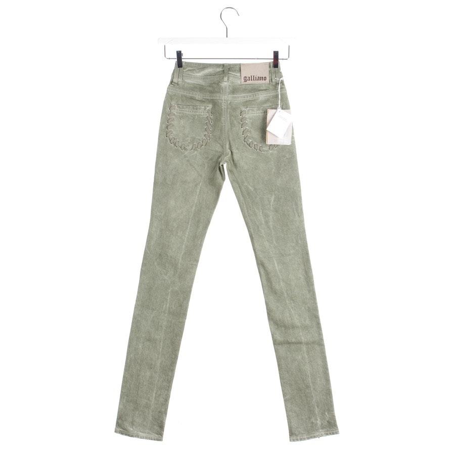 Jeans von John Galliano in Grün Gr. W25 - Neu