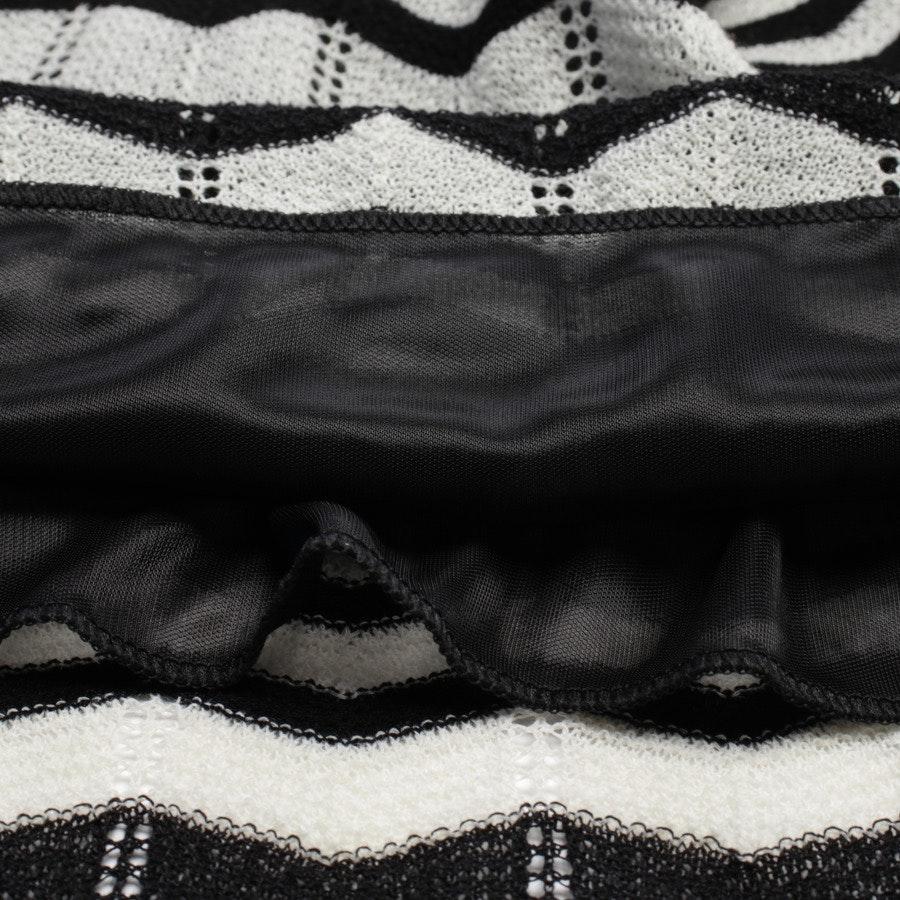 Kleid von Missoni M in Schwarz und Weiß Gr. 38 IT 44