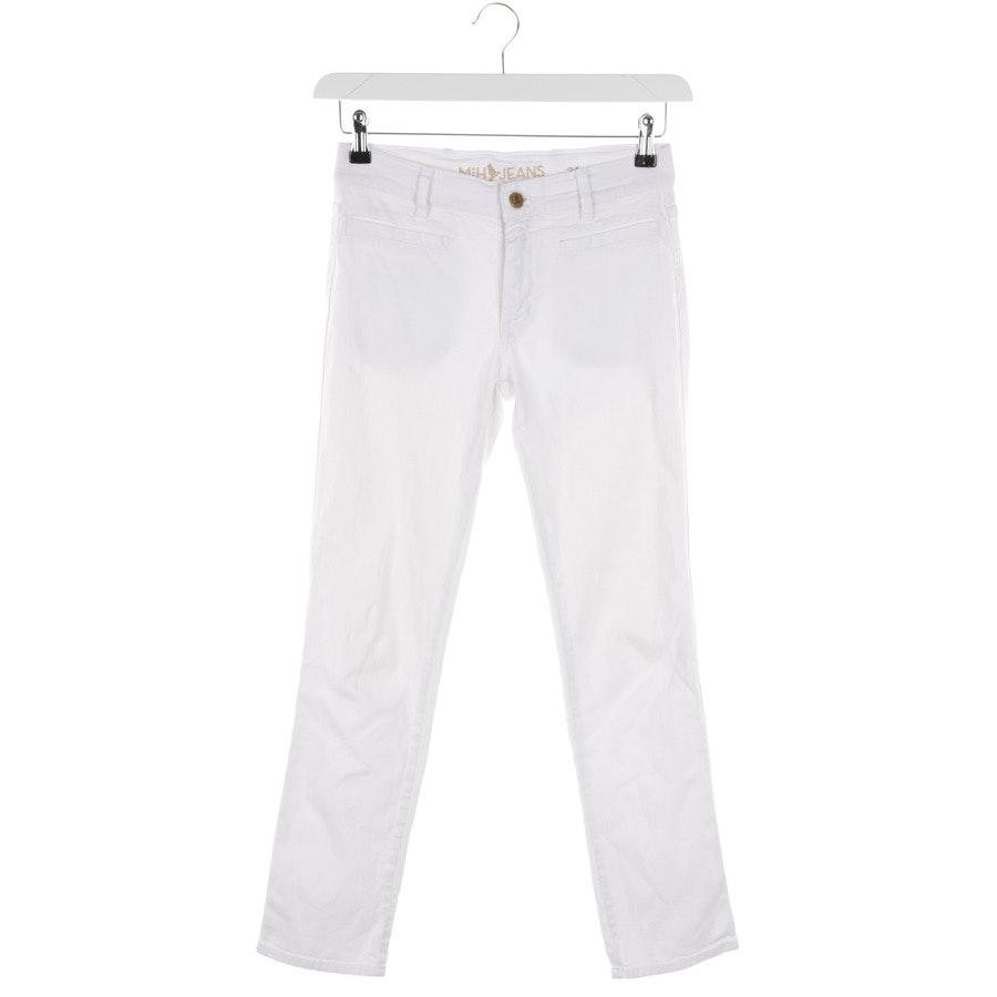 Jeans von MiH in Weiß Gr. W24
