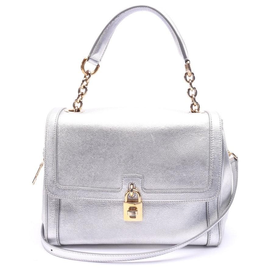 Handtasche von Dolce & Gabbana in Silber