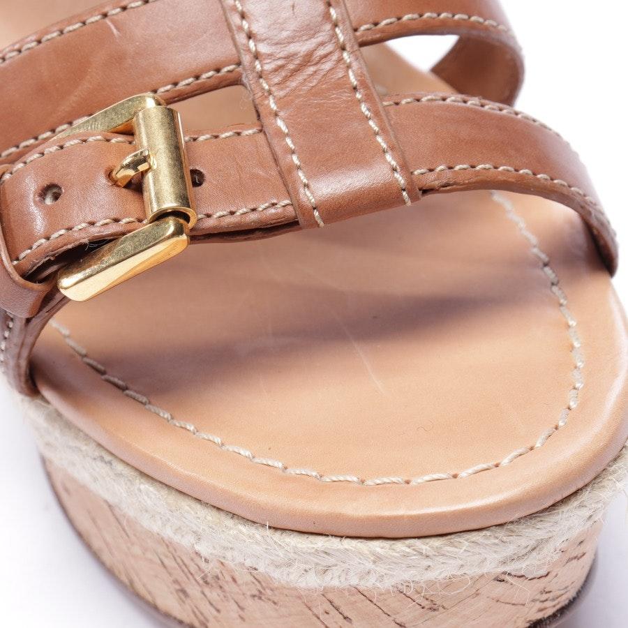 Sandaletten von Car Shoe in Braun Gr. EUR 39,5