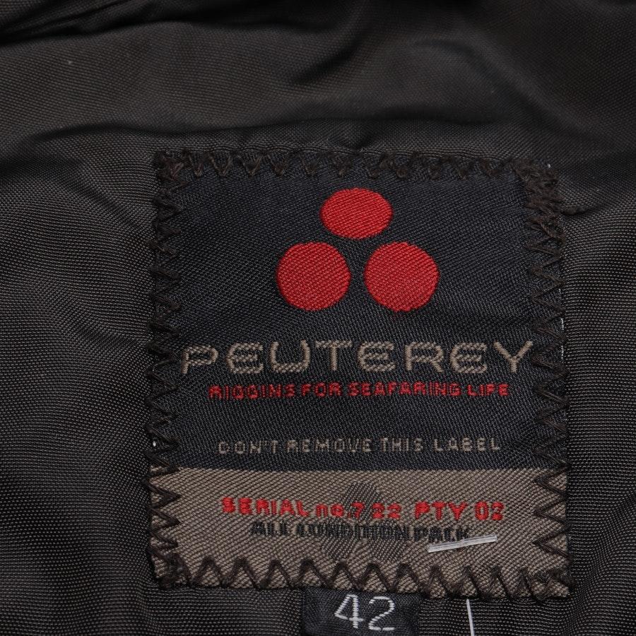 Übergangsjacke von Peuterey in Dunkelbraun Gr. 36 IT 42