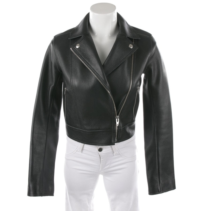 leather jacket from T by Alexander Wang in black size 34 / 0