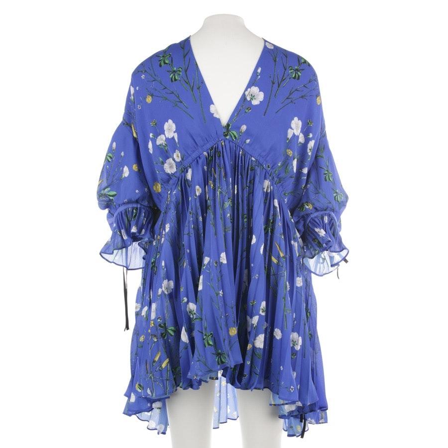 Kleid von self-portrait in Blau und Multicolor Gr. 34 UK 8