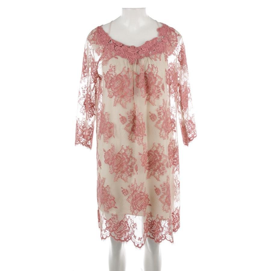 Kleid von Twin Set in Beige und Rosa Gr. M