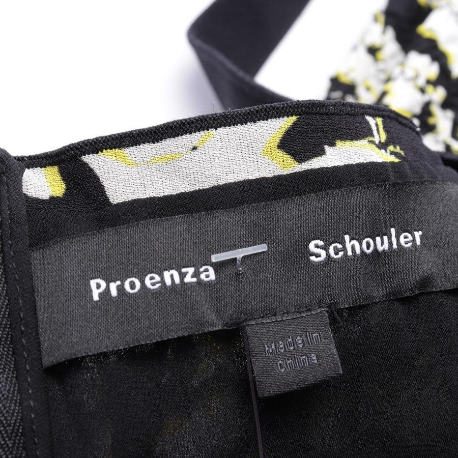 Seidenkleid von Proenza Schouler in Multicolor Gr. 38 US 8