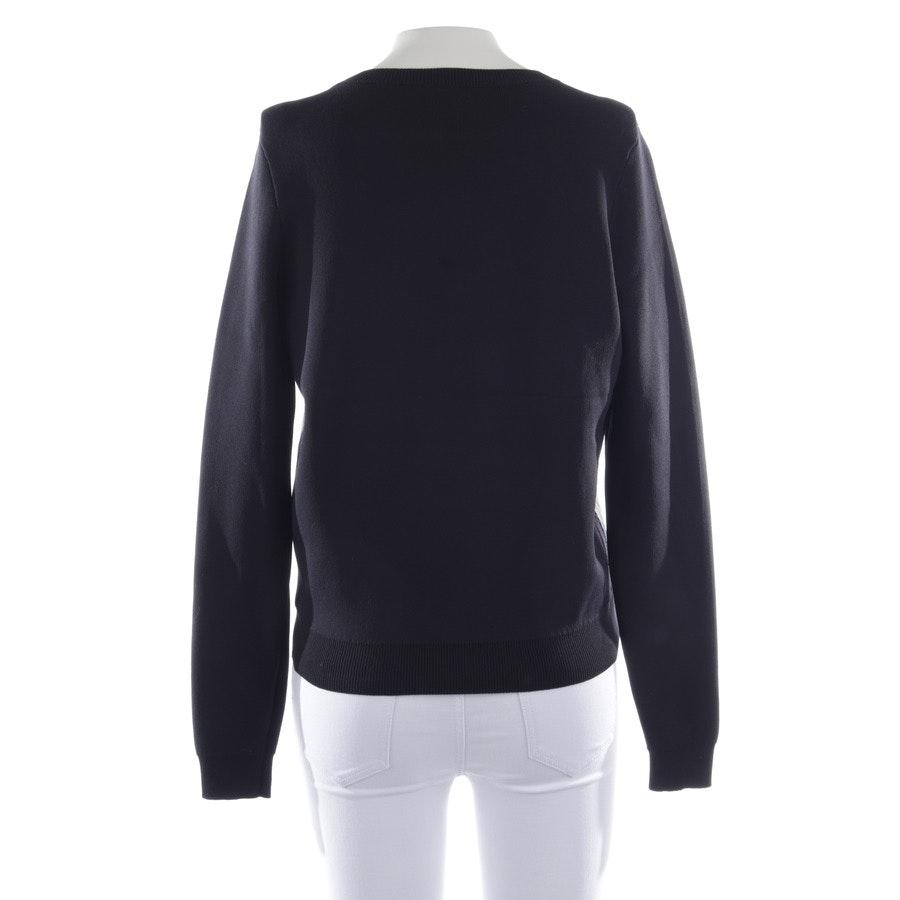 Sweatshirt von Karl Lagerfeld in Nachtblau und Schwarz Gr. XS