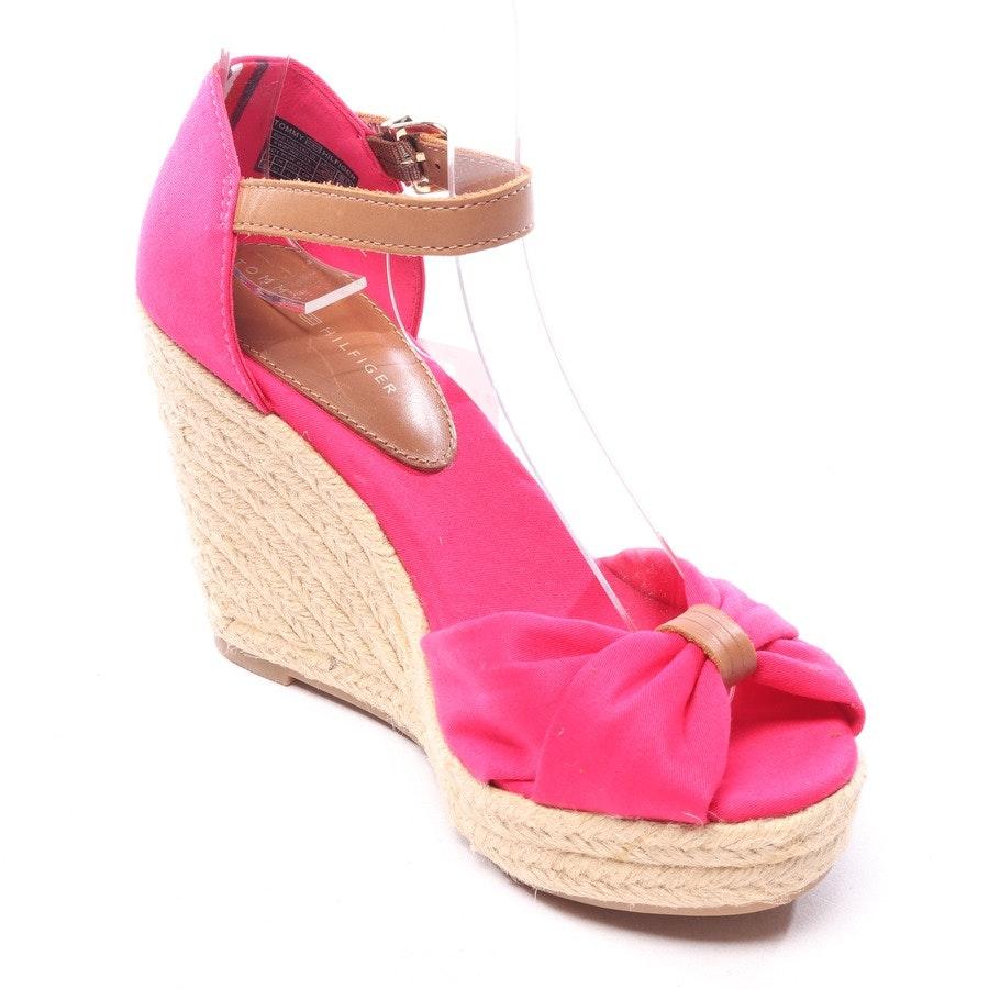 Sandaletten von Tommy Hilfiger in Pink und Braun Gr. EUR 36 - Neu