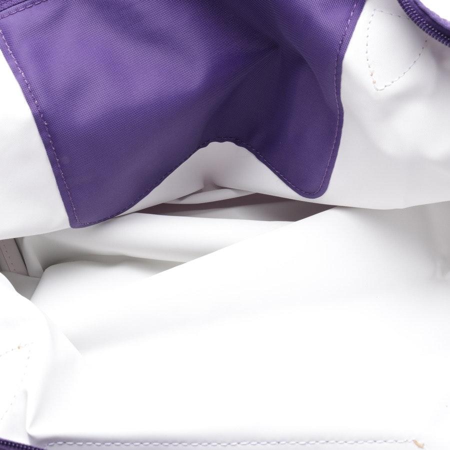 Handtasche von Longchamp in Lila und Braun - Le Pliage L