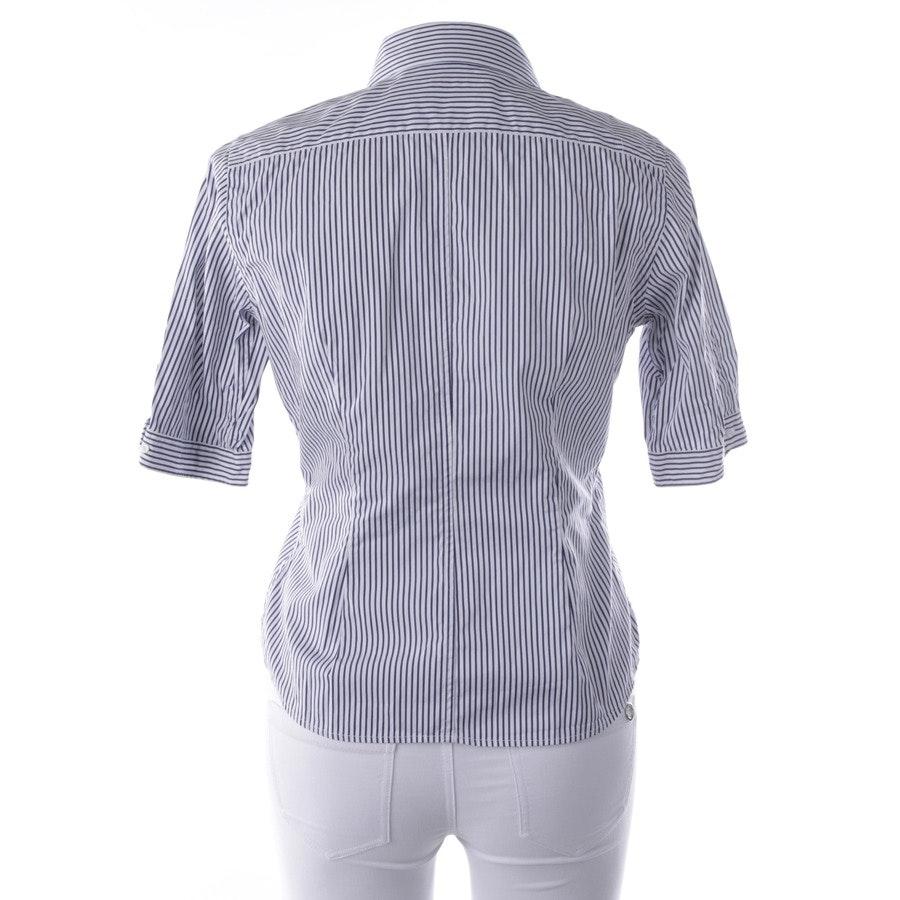 Bluse von Polo Ralph Lauren Sport in Dunkelblau und Weiß Gr. 38 US 8