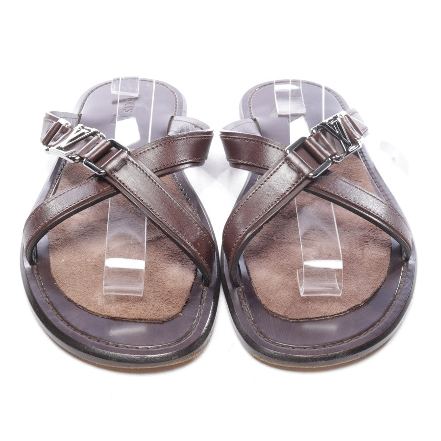 Sandalen von Louis Vuitton in Braun Gr. EUR 41,5