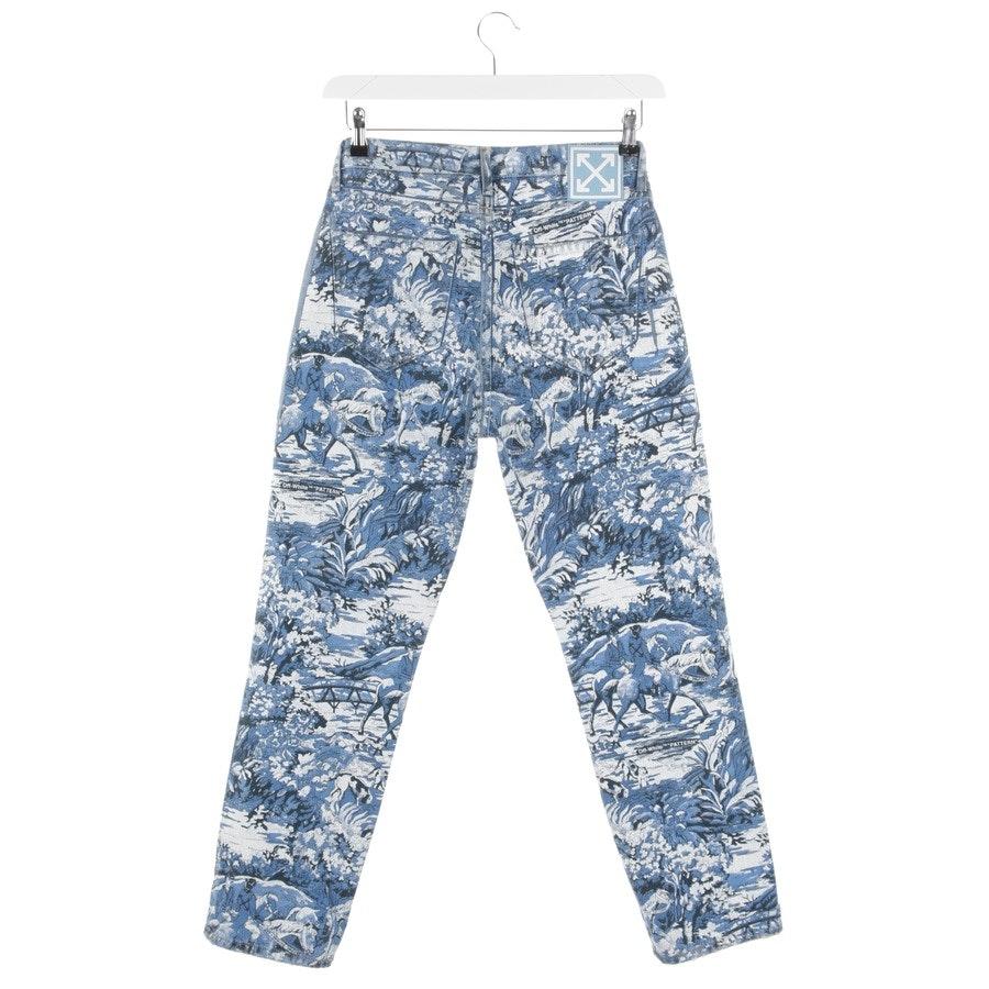 Jeans von Off-White in Blau und Weiß Gr. 36