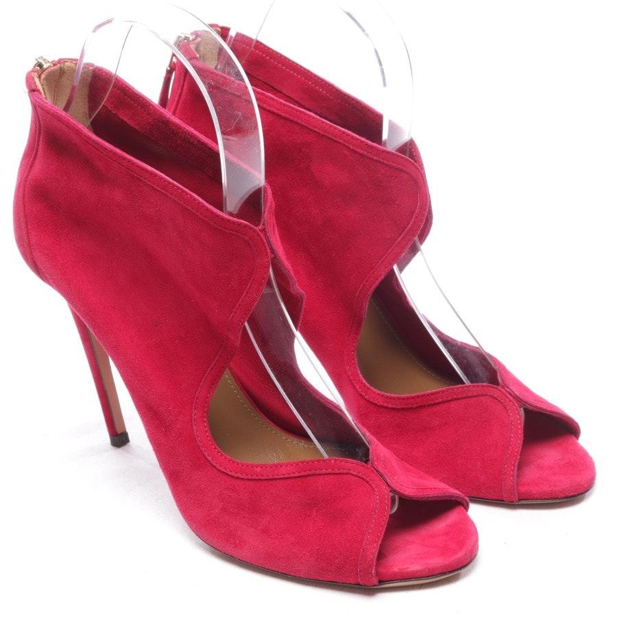 heeled sandals from Aquazzura in fuchsia size EUR 38 - new