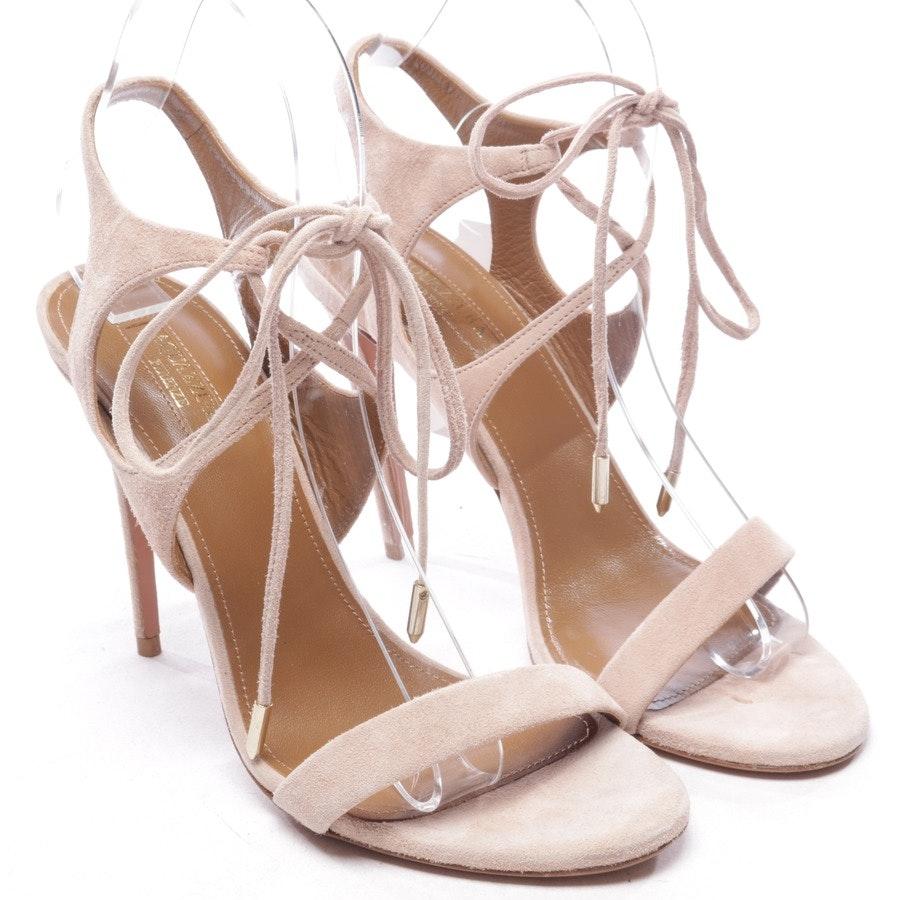 Sandaletten von Aquazzura in Zartrosa Gr. EUR 38