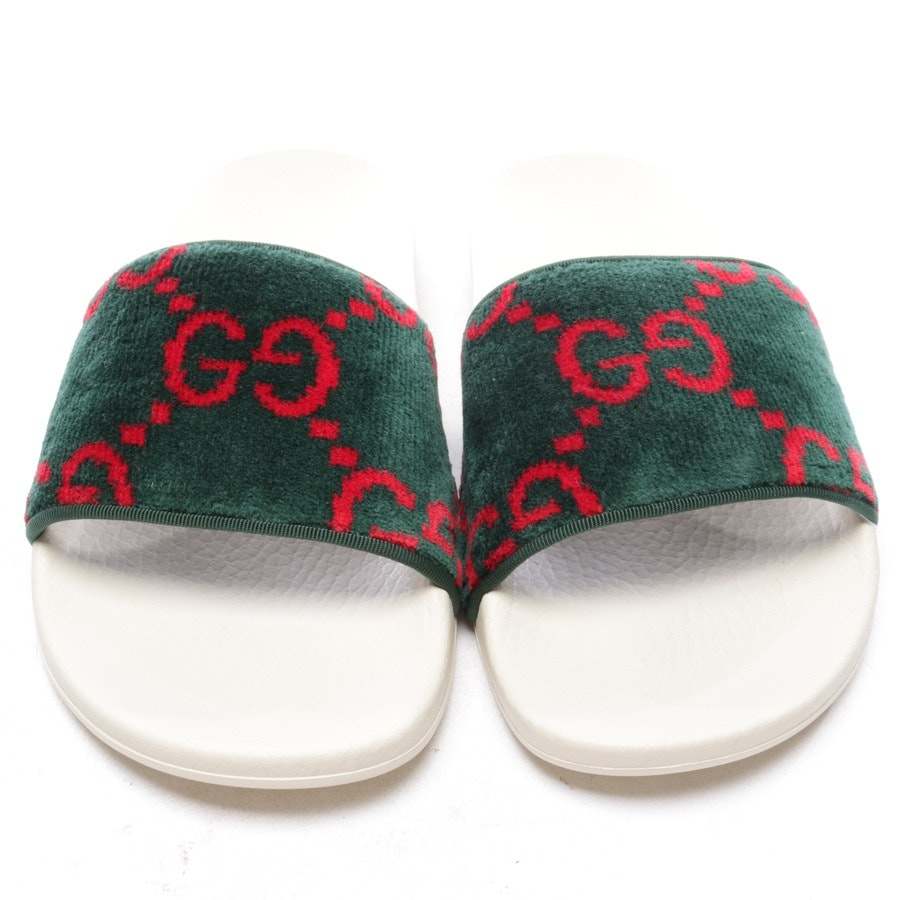 flat sandals from Gucci in green and red size EUR 38 - new