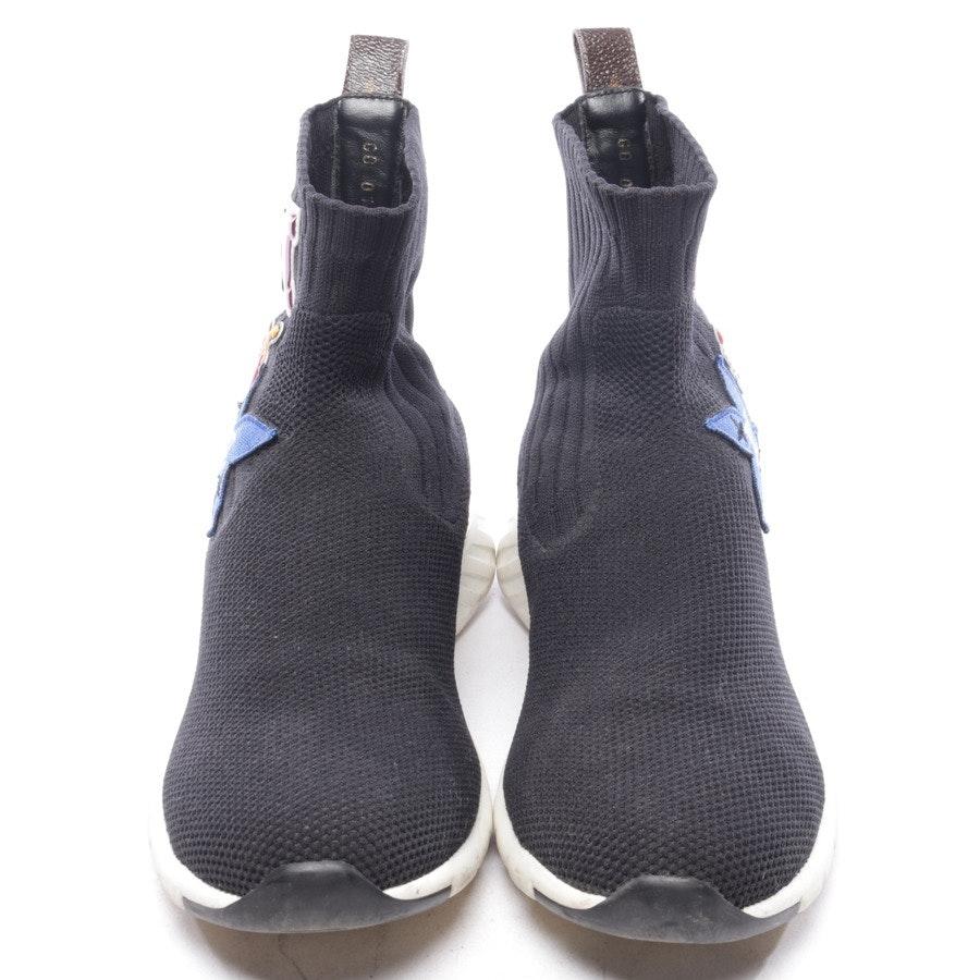 Sneaker von Louis Vuitton in Schwarz und Weiß Gr. EUR 37