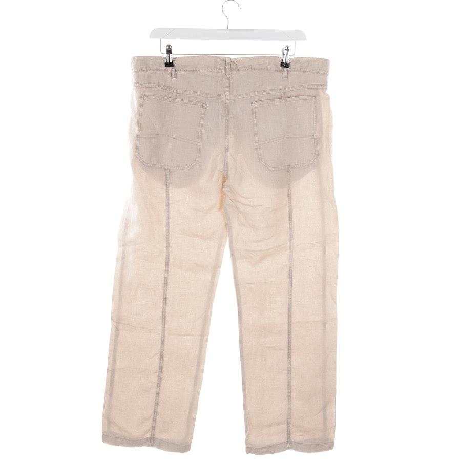 Leinenhose von Armani Jeans in Beige Gr. 56