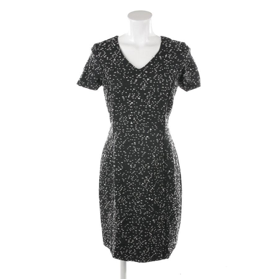 Kleid von Oscar de la Renta in Schwarz und Weiß Gr. 34 US 4