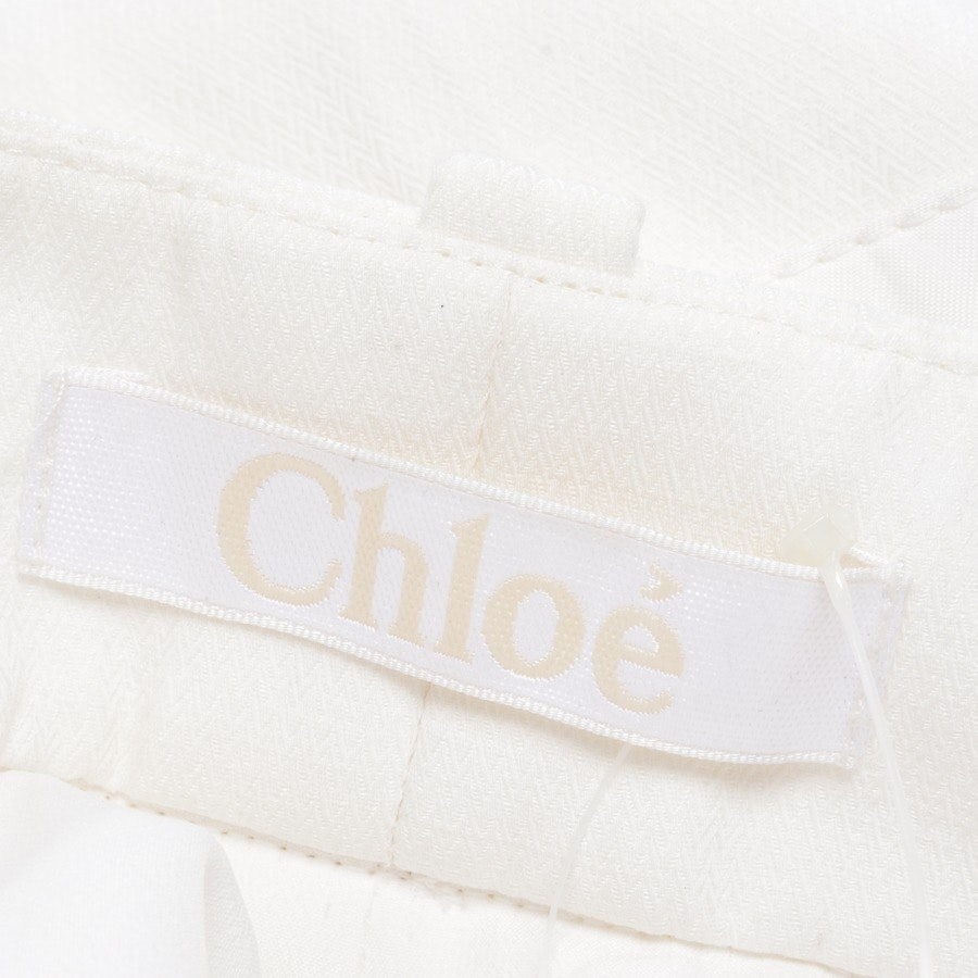 trousers from Chloé in cream size 38 FR 40