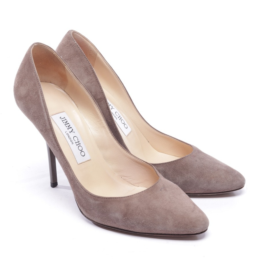 pumps from Jimmy Choo in brown size EUR 37