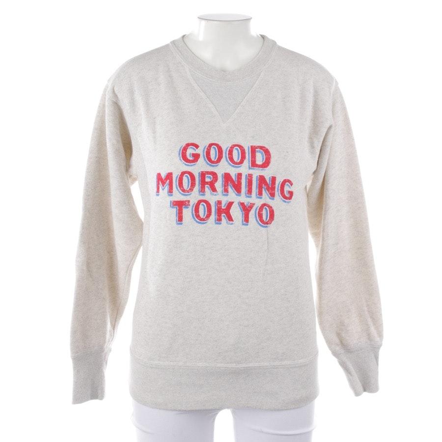 Sweatshirt von Isabel Marant Étoile in Grau meliert und Rot Gr. 34