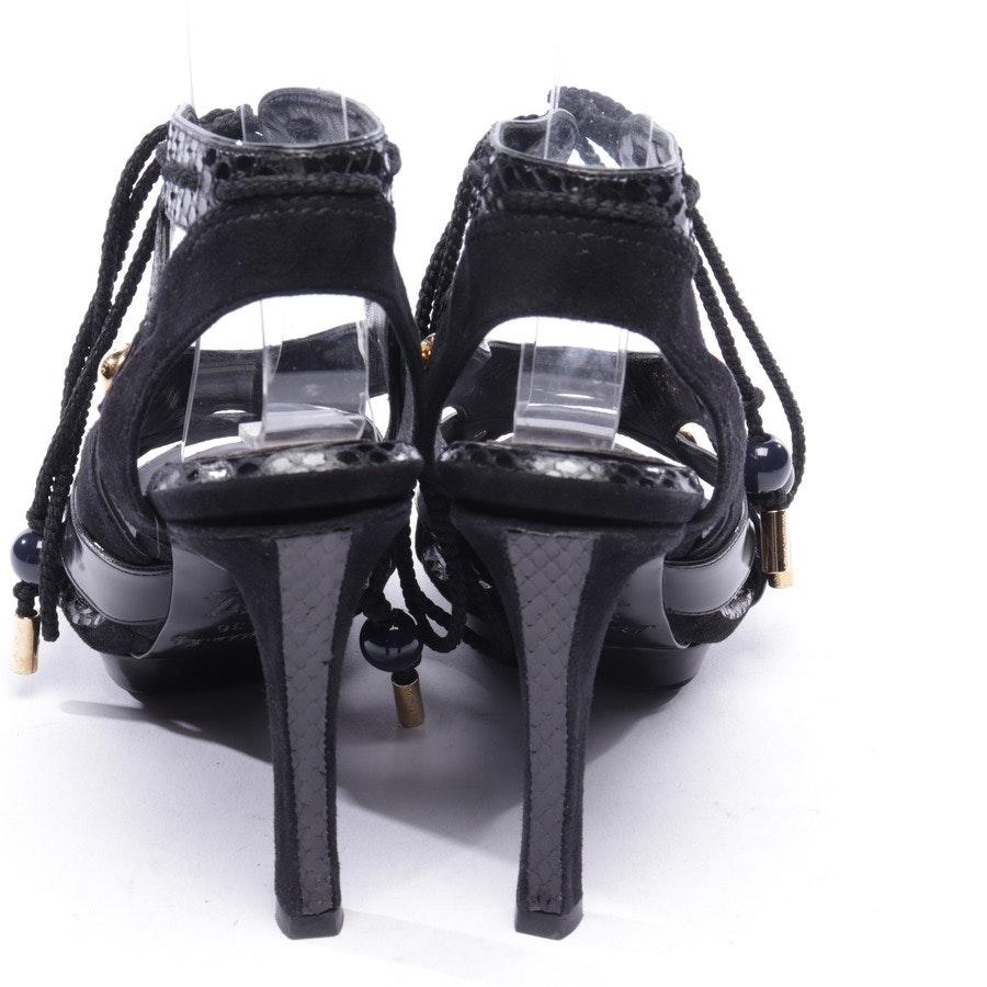 Sandaletten von Louis Vuitton in Schwarz Gr. EUR 36