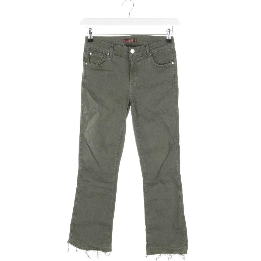 Jeans von 7 for all mankind in Khaki Gr. W27