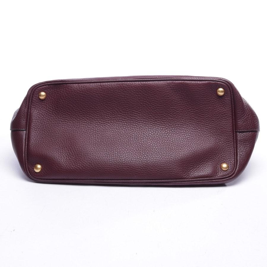 handbag from Prada in plum