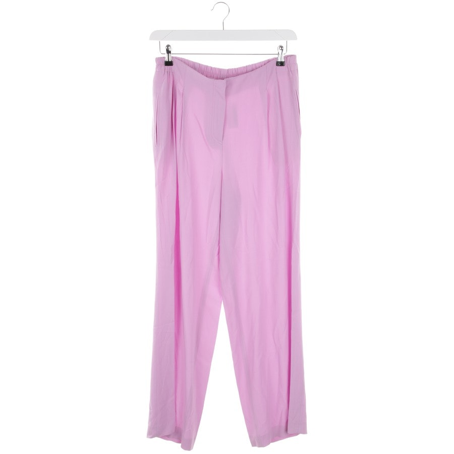 trousers from Ermanno Scervino in lilac size 42 IT 48