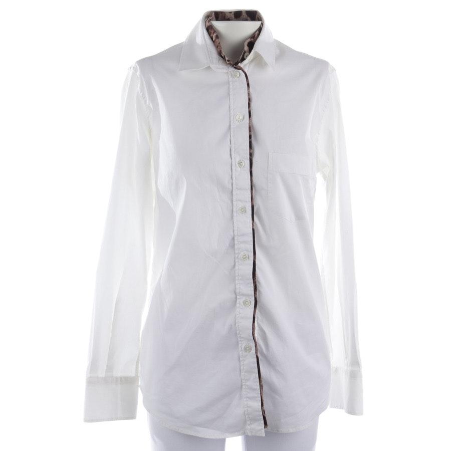 Bluse von Dolce & Gabbana in Weiß und Multicolor Gr. 36 IT 42