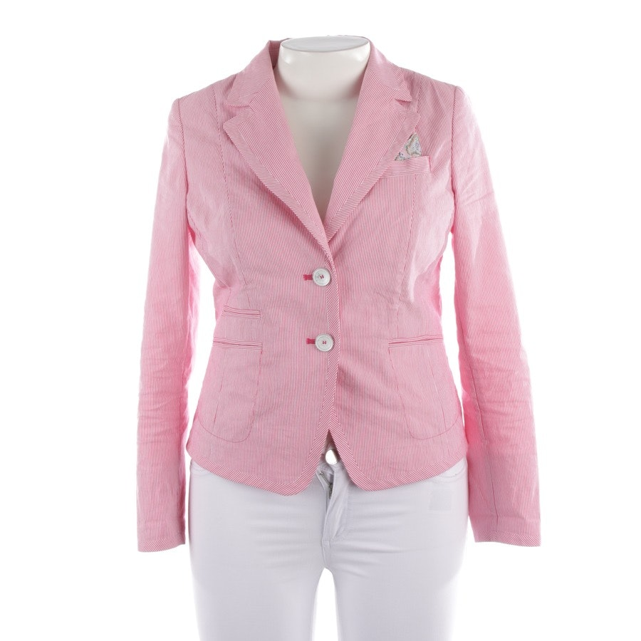 blazer from White Label in raspberry red and white size 40