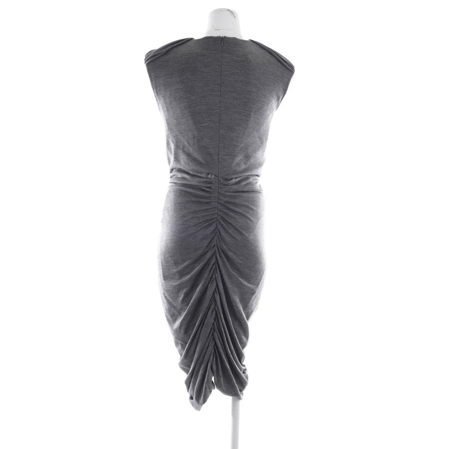 Wollstrickkleid von Moschino in Grau meliert und Schwarz Gr. 40