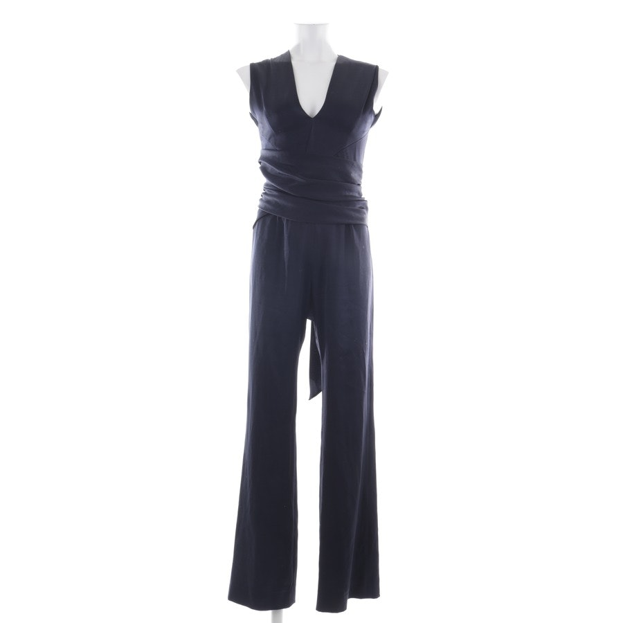 Jumpsuit von Galvan London in Dunkelblau Gr. XS