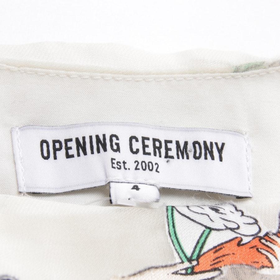 Sommerkleid von Opening Ceremony in Ecru Gr. 34 US 4
