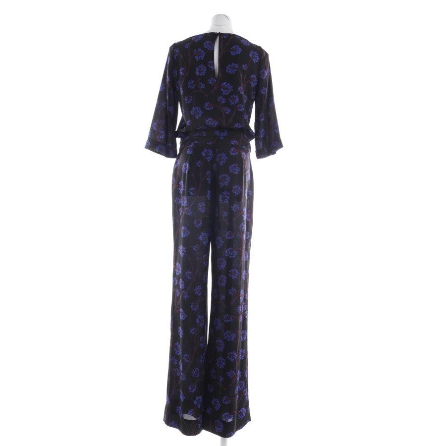 jumpsuit from Diane von Furstenberg in black and blue size 36 US 6