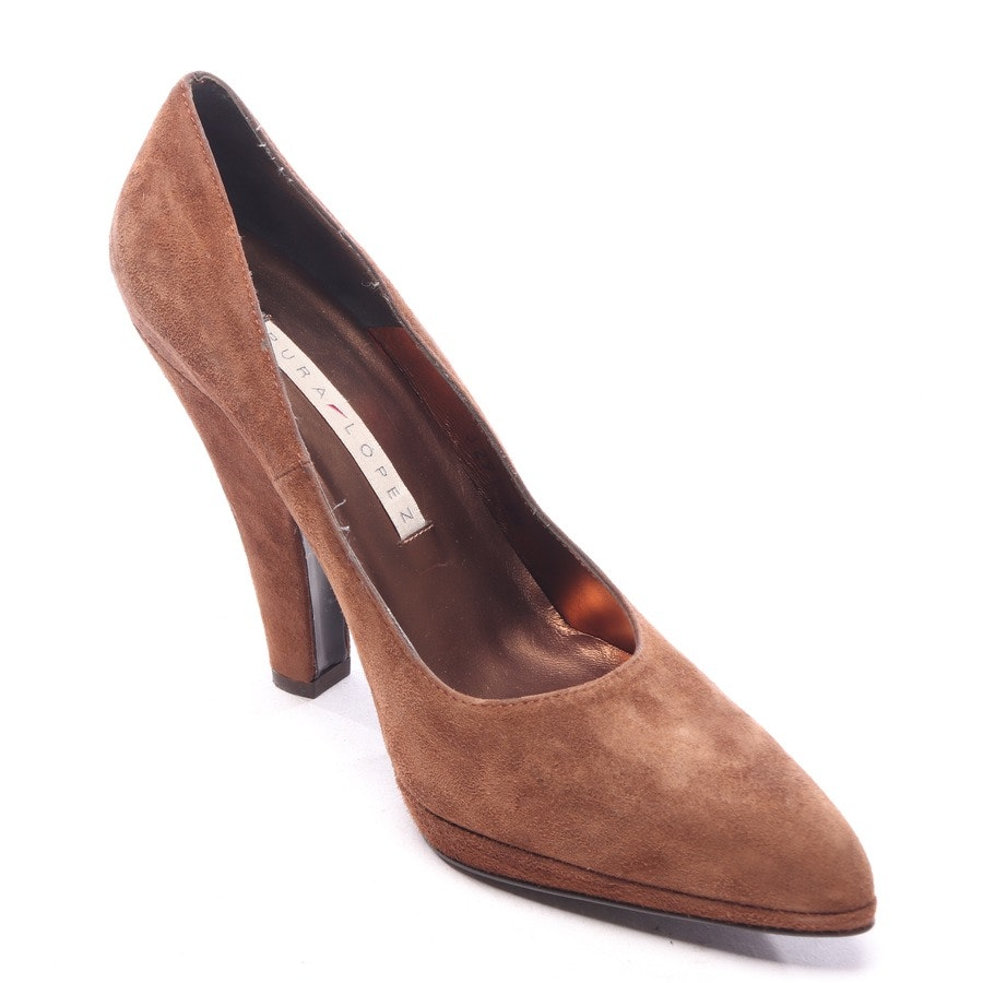 pumps from Pura López in brown size EUR 39