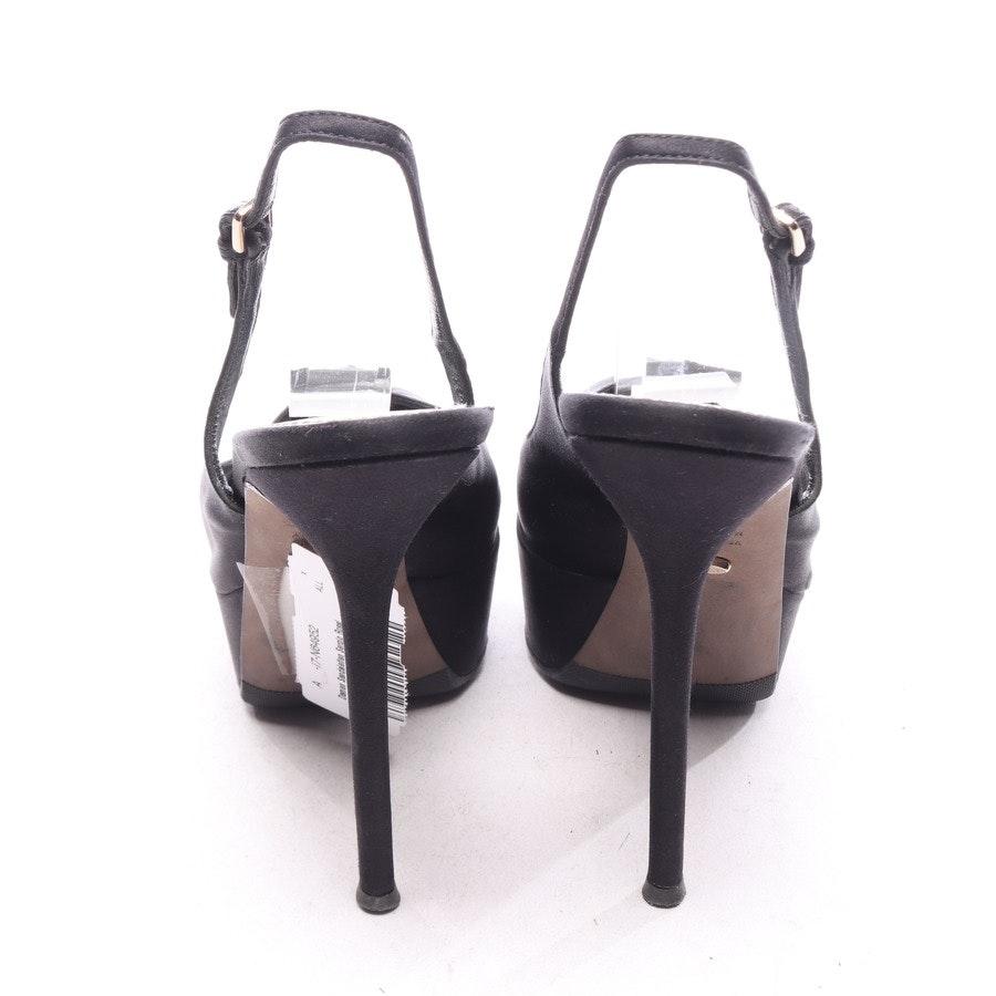 Sandaletten von Sergio Rossi in Schwarz Gr. EUR 37,5