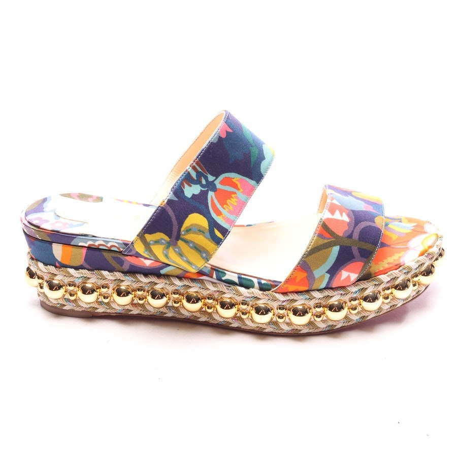 Sandaletten von Christian Louboutin in Multicolor Gr. EUR 38