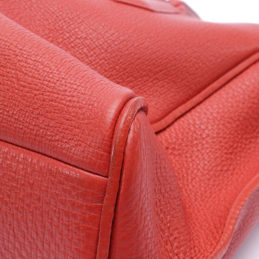 handbag from Longchamp in ruby