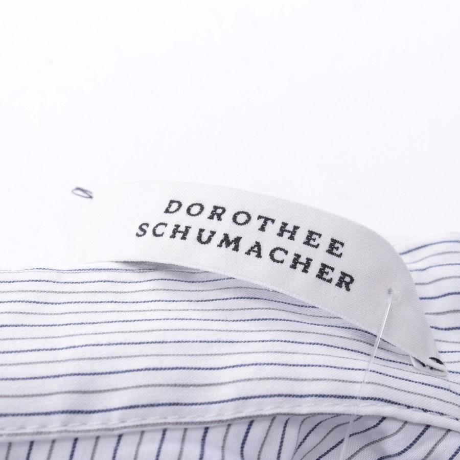 Bluse von Dorothee Schumacher in Weiß und Schwarz Gr. 36 / 2